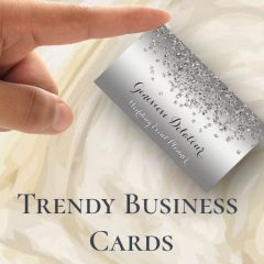 Trendy Business Cards ~ Make Your First Impression Count